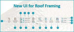 New UI released for Wood/Metal Framing Roof BIM Solutions for Revit