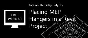 Placing MEP Hangers in a Revit Project [WEBINAR]