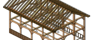 Framing with Heavy Timber in Revit (SneakPeek)