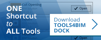 banner linked to webpage for downloading TOOLS4BIM Dock
