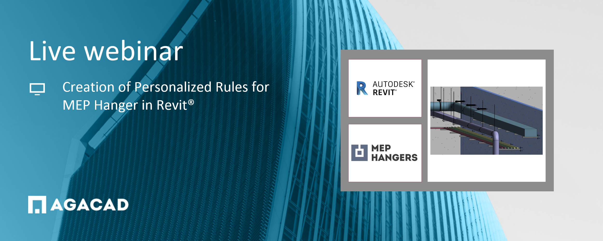 WEBINAR: Custom Rules for Placing Hangers & Supports for MEP