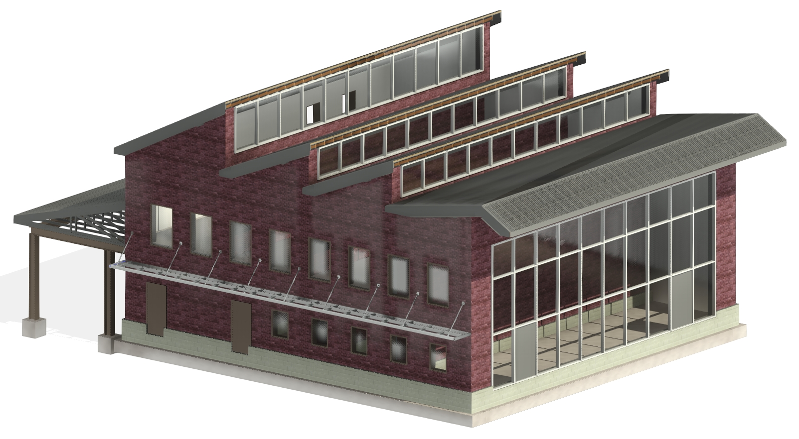 rafter and truss systems for framing in Autodesk Revit using AGACAD Roof Framing BIM tools