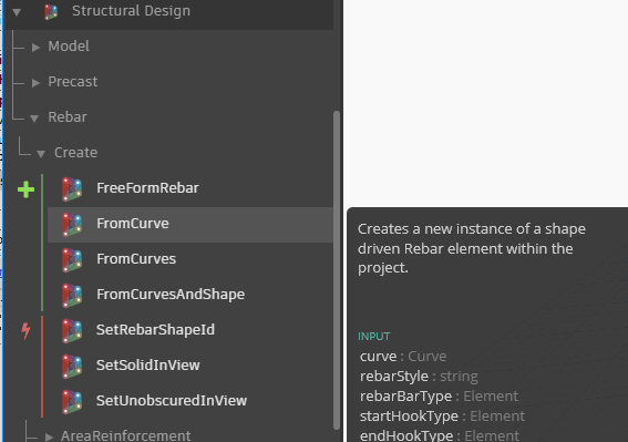 Structural Design with Dynamo: create Rebar element in Revit   AGACAD
