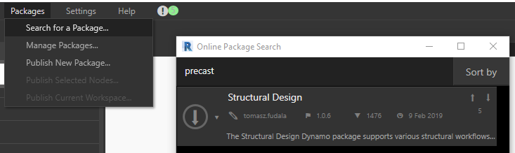 Structural Design Dynamo package | AGACAD
