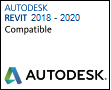 Autodesk Revit compatible 2018 -2020