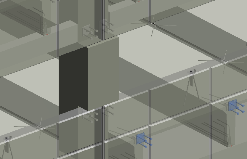 connection details in a BIM model of precast concrete | AGACAD Precast Concrete design software for Revit
