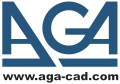 Old AGA CAD logo