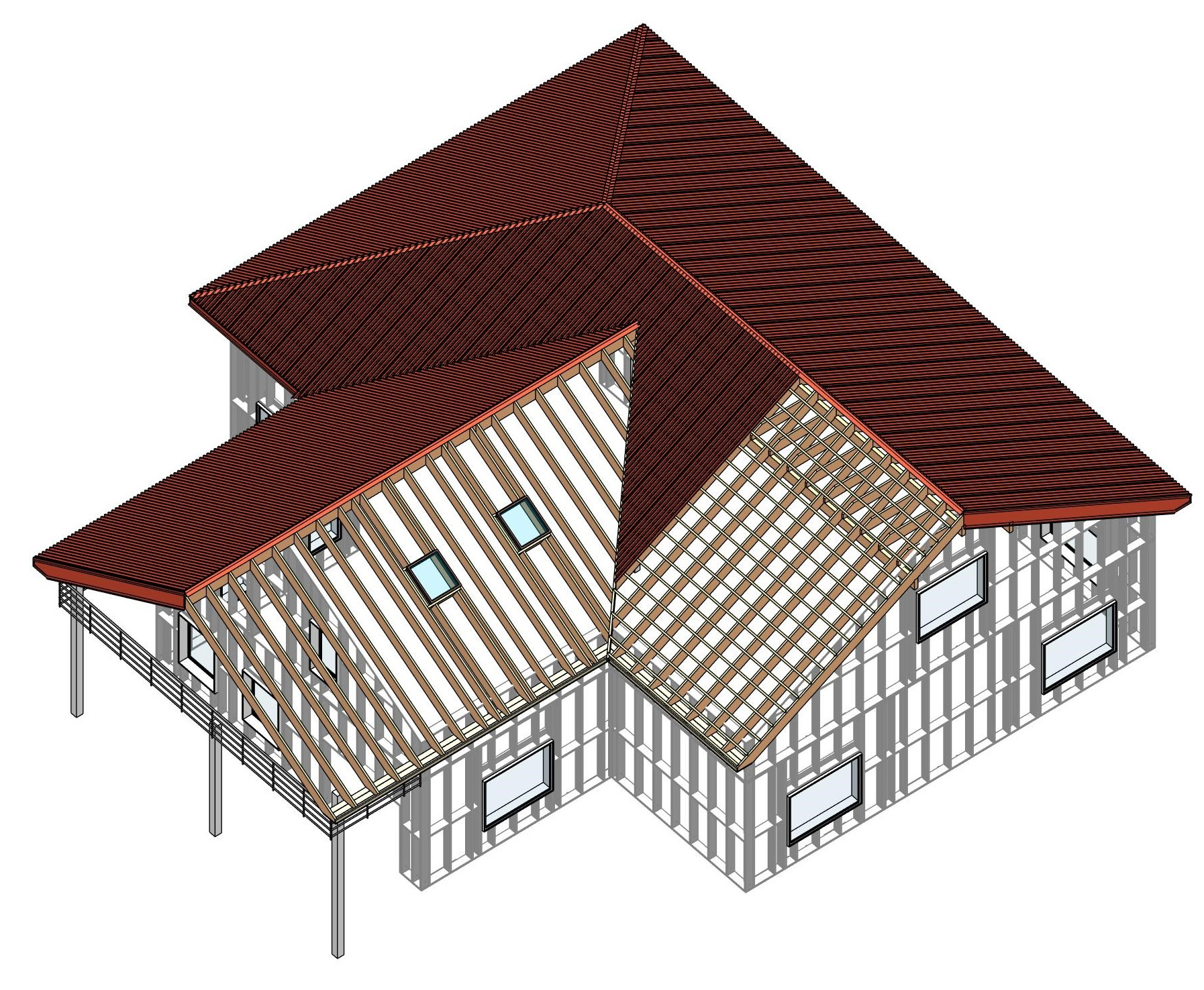 New Features For Wood Metal Framing Automated Rafters In Revit Bim Software Autodesk Revit Apps T4r Tools For Revit