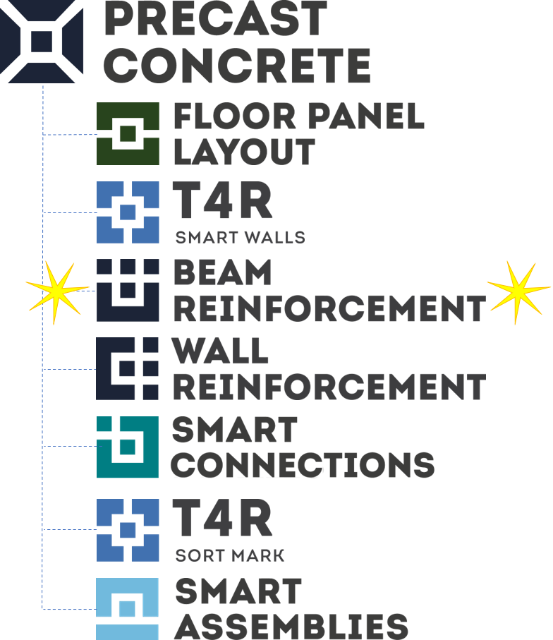 Revit addons in AGACAD Precast Concrete design software