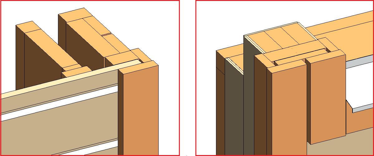 Door side and Door-Window join framing