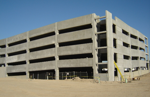 Marina Villas Parking Garage, courtesy of CKR Engineers