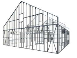 Automated light gauge steel wall framing in Revit | AGACAD