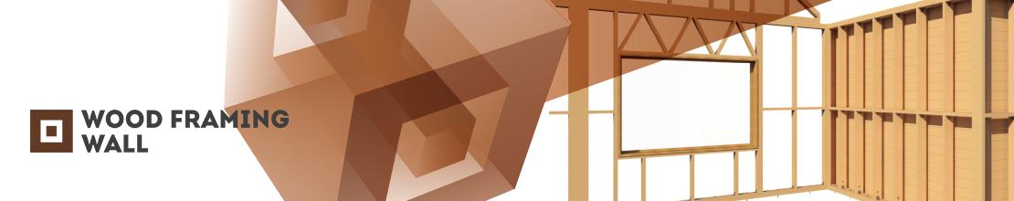 BIM software for efficiently designing wood-frame walls