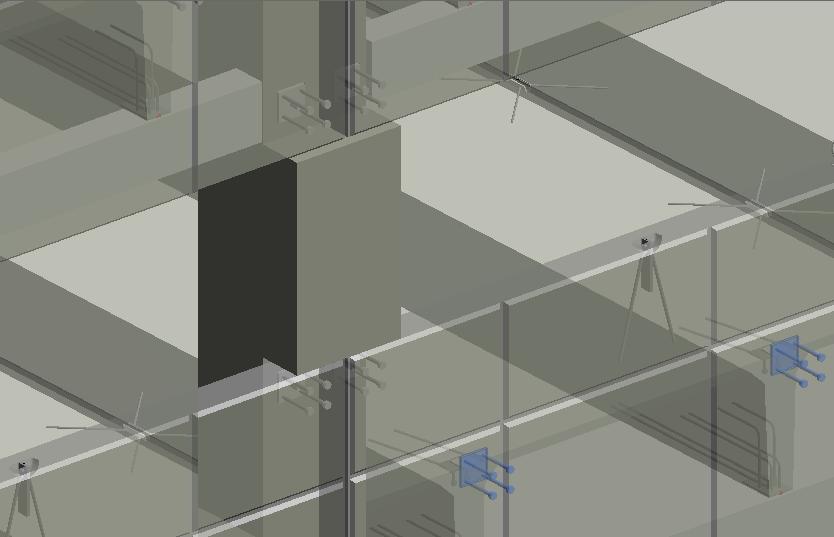 connection details in a BIM model of precast concrete | AGACAD Precast Concrete design software for Revit